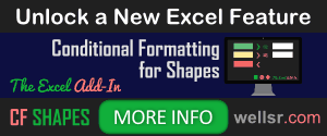 CF Shapes Excel Add-in