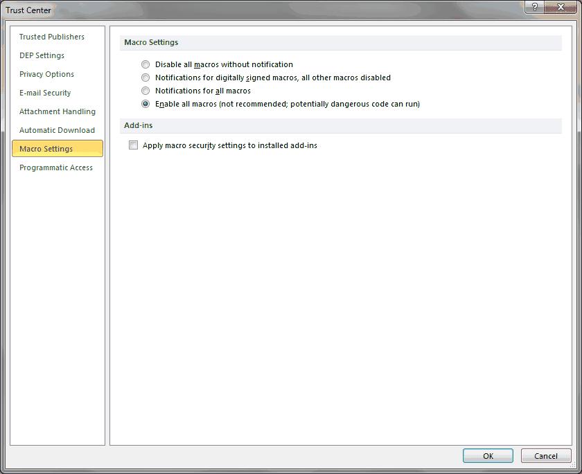 Enable Outlook 2010 Developer Tab - wellsr com