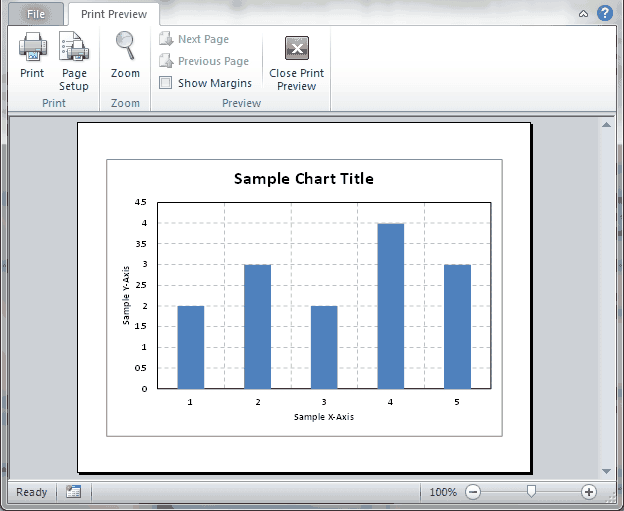 Print all charts in excel workbook wellsr print all charts printpreview ccuart