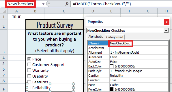 The Complete Guide to Excel VBA ActiveX Checkboxes - wellsr com