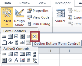 The Complete Guide to Excel Form Control Option Button VBA