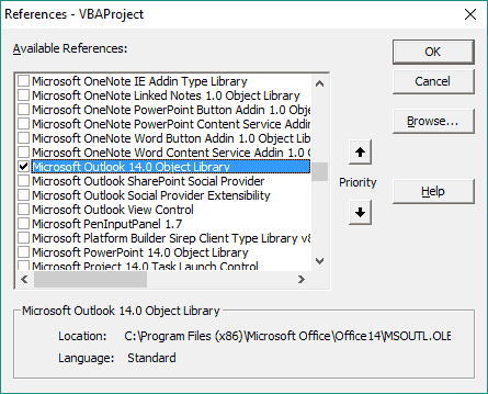 Export Outlook Contacts to Excel with VBA - wellsr com