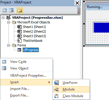 Beautiful VBA Progress Bar with Step by Step Instructions