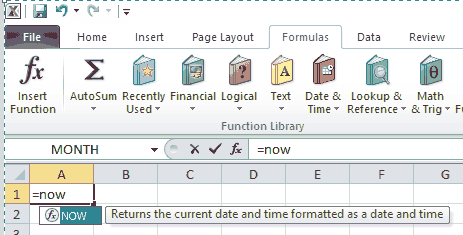 Excel Function Tooltip
