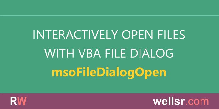 The VBA Tutorials Blog - Learn VBA Code Online for Free
