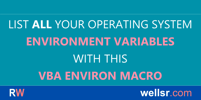 The VBA Tutorials Blog - Learn VBA Code Online for Free