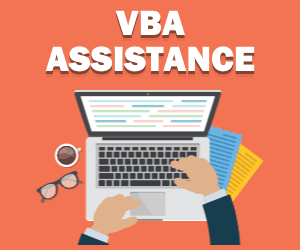 Excel VBA Consulting