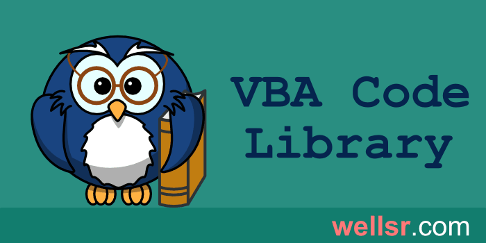 VBA Dir Function to Check if File Exists - wellsr com