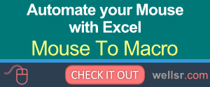 Mouse To Macro Excel Add-in